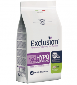 Exclusion - Veterinary Diet Canine - Hypoallergenic - Small - Insetti e Piselli - 2kg