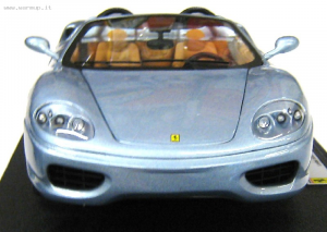Ferrari 360 Spider Silver The Italian Job 1/18 Hot Wheels