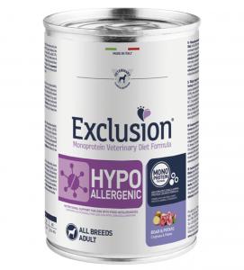 Exclusion - Veterinary Diet Canine - Hypoallergenic - 400g x 24 lattine