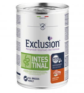 Exclusion - Veterinary Diet Canine - Intestinal - 400g x 24 lattine