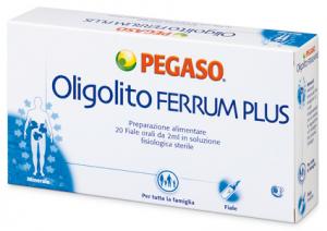 OLIGOLITO FERRUM PLUS 20F 2ML
