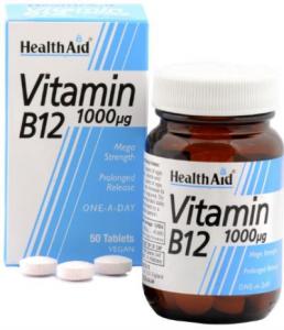 VITAMIN B12 1000 UG 50CPS