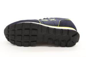 SUN68 Sneakers Uomo Tom Nylon Fluo