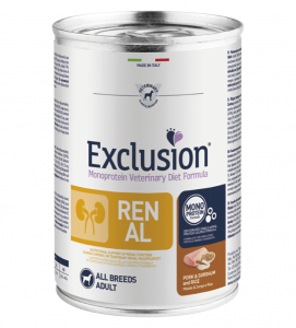 Exclusion - Veterinary Diet Canine - Renal - 400g x 12 lattine