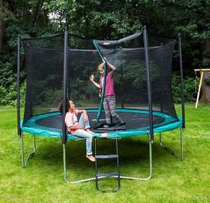 Tappeto Elastico BERG Favorit + Safetynet Comfort - Verde