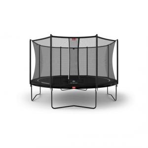 Tappeto Elastico BERG Favorit + Safetynet Comfort - Nero