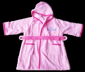 Accappatoio Baby Cinigliato Bambina bimba 100% Spugna di cotone DISNEY FROZEN
