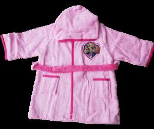 Accappatoio Baby Cinigliato Bambina bimba 100% Spugna cotone PAW PATROL Bagno