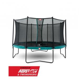 Tappeto Elastico BERG Champion + Safetynet Comfort - Verde