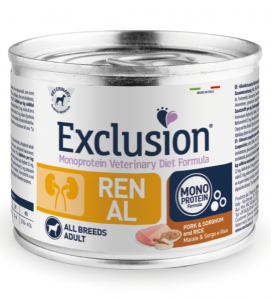 Exclusion - Veterinary Diet Canine - Renal - 200g x 12 lattine