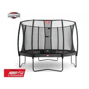 Tappeto Elastico BERG Champion + Safetynet Comfort - Grigio