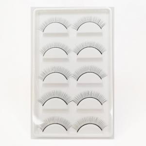 Maniquí para práctica Extensión de pestañas + 10 pares de pestañas
