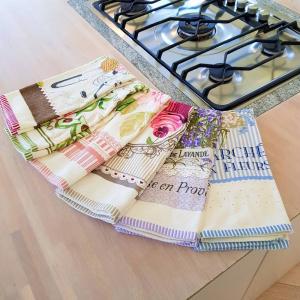 Canovacci cucina spugna Profumo di lavanda
