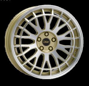 Cerchi in lega  ETABETA  Unit  19''  Width 8,5   5x112  ET 45  CB 78,1    Shiny Gold Lip+Face Polish
