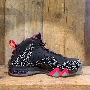 Scarpa Nike Barkley Positive Max Prm Qs Nera Rosa Fluo