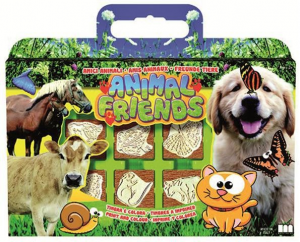 valigetta 7 timbri ANIMALI AMICI 7935 MULTIPRINT