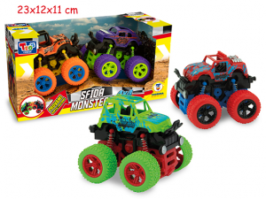 SFIDA MONSTERS OFF ROAD 4X42 COL. ASST. 66551 TEOREMA