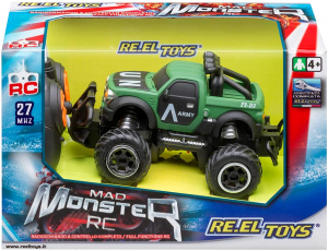 AUTO MAD MONSTER R/C 2256 REEL TOYS