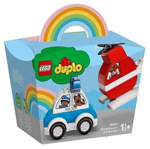 LEGO 10957 Elicottero antincendio e Auto della polizia 10957 LEGO S.P.A.
