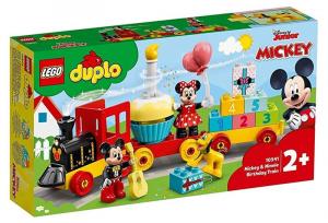 LEGO 10941 Il treno del compleanno di Topolino e Minnie 10941 LEGO S.P.A.