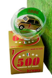 Fiat Nuova 500 Expo Campioni Del Mondo 2006 12 Pcs 1/43 Brumm 100% Made In Italy