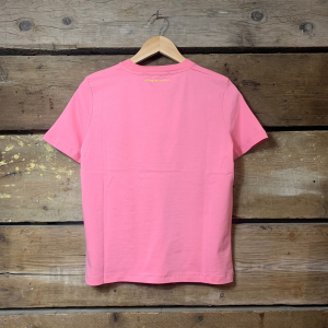 Maglia Department 5 Donna You A Mezza Manica Rosa Acceso