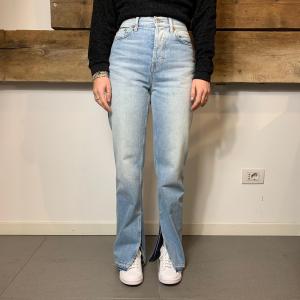 Jeans Department 5 Donna Dua con Spacco Blu Chiaro