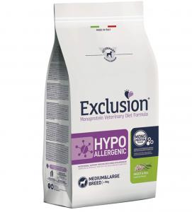 Exclusion - Veterinary Diet Canine - Hypoallergenic - Medium/Large - Insetti e Piselli - 12kg x 2 sacchi