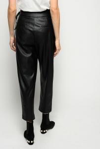 Pantalone Rapito effetto pelle nero Pinko
