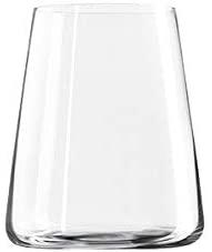 Set di 6 bicchieri da vino bianco Power 380 ml, in cristallo senza piombo cm.10,1h diam.8,6