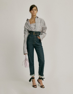 Pantalone in denim philosophy di lorenzo serafini
