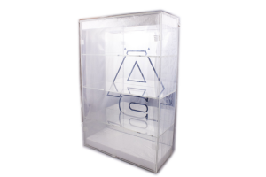Display case for 4 models 1/18 Autoart
