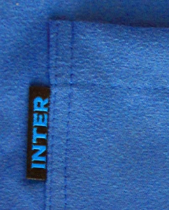 Accappatoio Inter Microfibra Bambino 4-6 anni 8-10 anni 12-14 anni Prodotto ufficiale