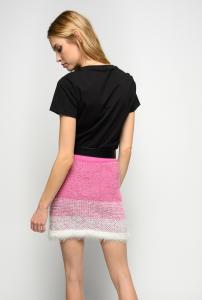 T-shirt Effimero ricamata Pinkoness calling Pinko