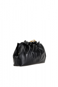 Borsa Mini Chain Clutch fraimed nera Pinko