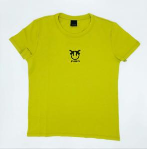T-shirt Bussolano logo love birds Pinko