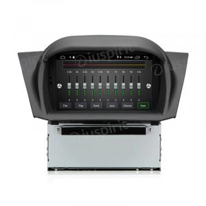 ANDROID 10 autoradio navigatore per Ford Fiesta 2009-2012 GPS DVD USB SD WI-FI Bluetooth Mirrorlink