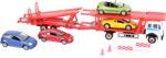 Autotrasportatore con modellini d'auto