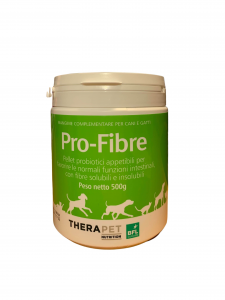 Pro-fibra 500g - per il benessere intestinale nel cane e nel gatto  - Therapet