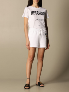 T-shirt moschino couture con logo
