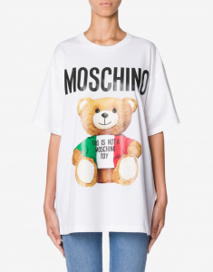 T-shirt teddy bear moschino couture