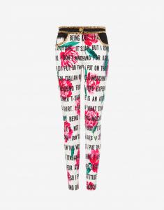 pantalone moschino couture