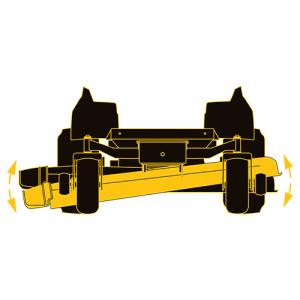 Trattorino CUB CADET Zero Turn XZ3 122