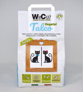 WeCat - Lettiera Vegetale e Agglomerante - 7 litri