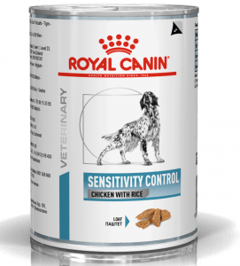 Royal Canin - Veterinary Diet Canine - Sensitivity Control - 420g x 6 lattine