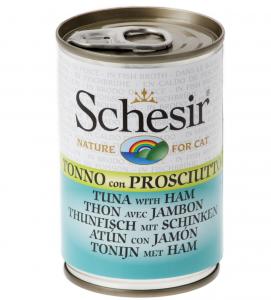 Schesir Cat - Gelatina - Adult - 140g x 6 lattine