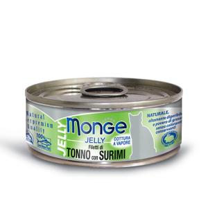 Monge Cat - Natural Superpremium - Jelly - Adult - 80g x 6 lattine