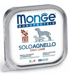 Monge Dog - Monoproteico - 150g x 6 vaschette