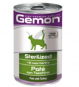 Gemon - Patè - 400 g x 24 lattine
