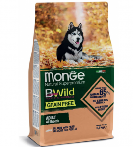 Monge - BWild Grain Free - All Breeds Adult - 2.5 kg